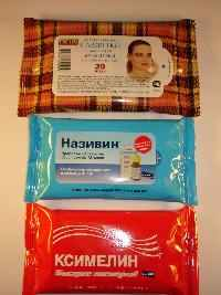Производство салфеток в пачке 10-20 и 100 шт
